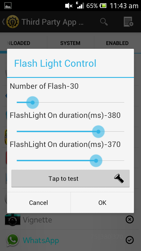 Flash Blink - screenshot
