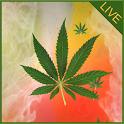 Weed Ganja Live Wallpaper icon
