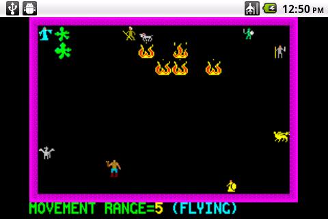 Chaos - The Battle of Wizards - screenshot
