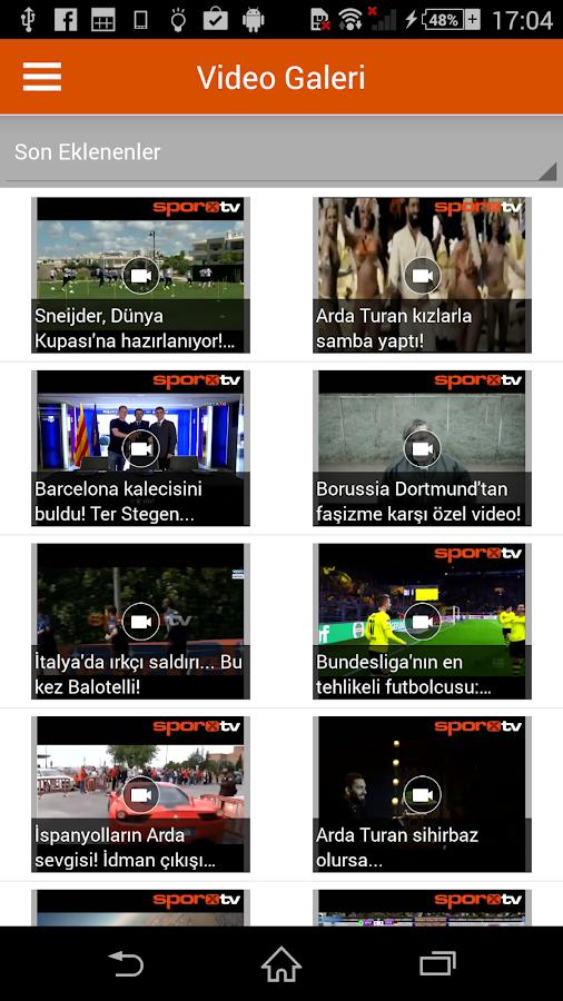 Sporx - screenshot