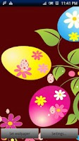 Screenshot of Easter Live Wallpaper Pro