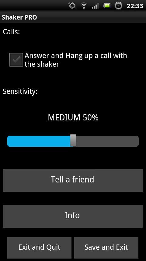 Shaker PRO- screenshot