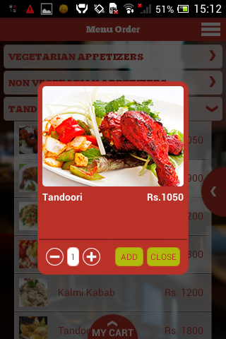 JusFood - Order Food Online - screenshot