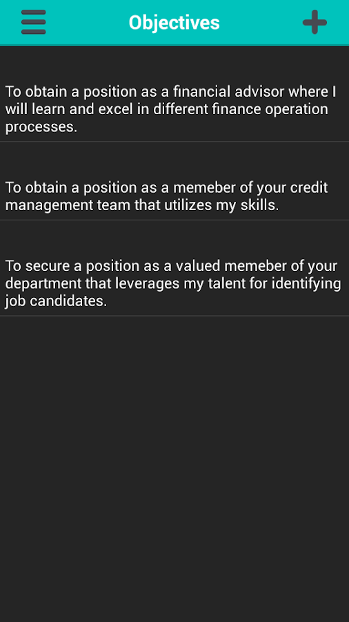professional resume generator