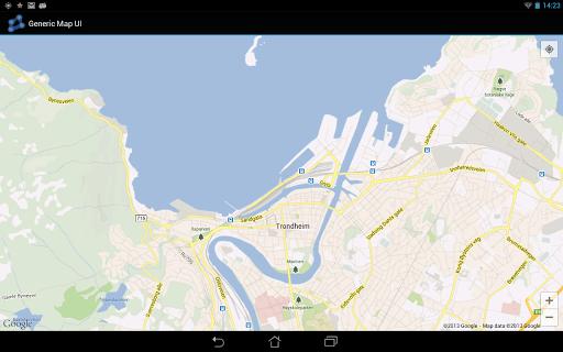 Generic Map UI