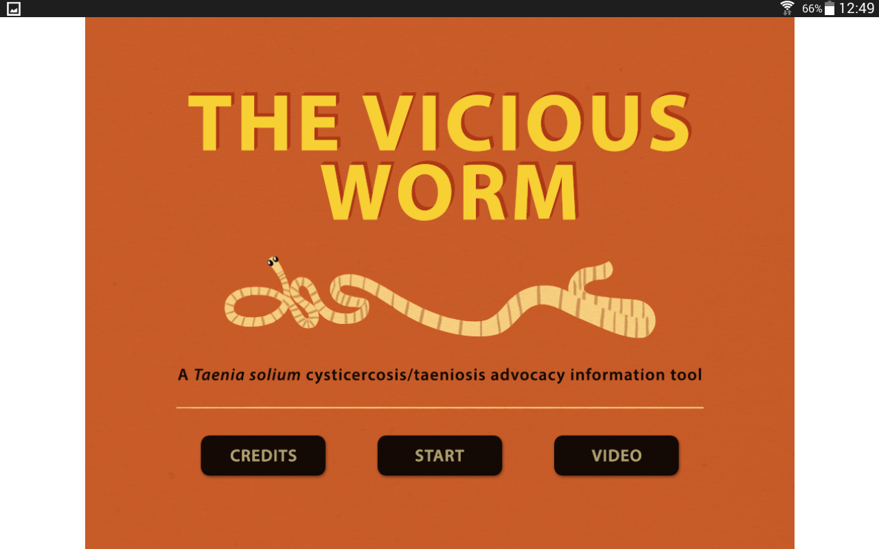 The Vicious Worm- screenshot