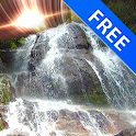 3D Waterfall Mars Effect Free icon