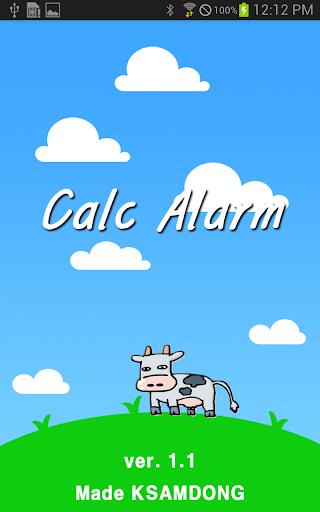 Calc Alarm