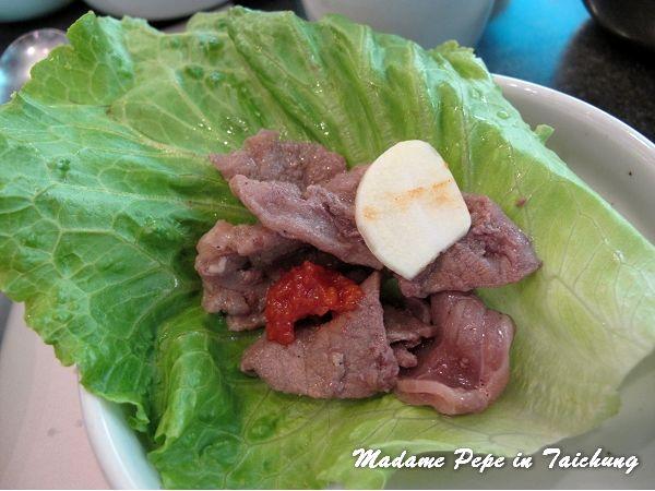 [台中] 三元韓式花園餐廳。道地的韓國傳統料理~
