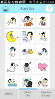 Screenshot of Chick Sticker -Free & Cute-