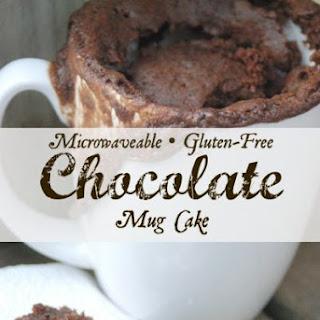 Gluten Free Chocolate Mug Cake.