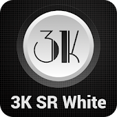 3K SR WHITE - Icon Pack
