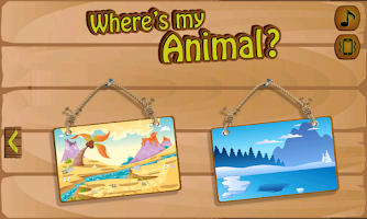 Screenshot of Where's My Animal?