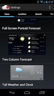 Recast Weather and Widgets - screenshot thumbnail