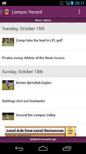 Lompoc Record - screenshot thumbnail