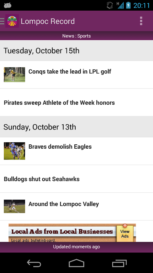 Lompoc Record - screenshot