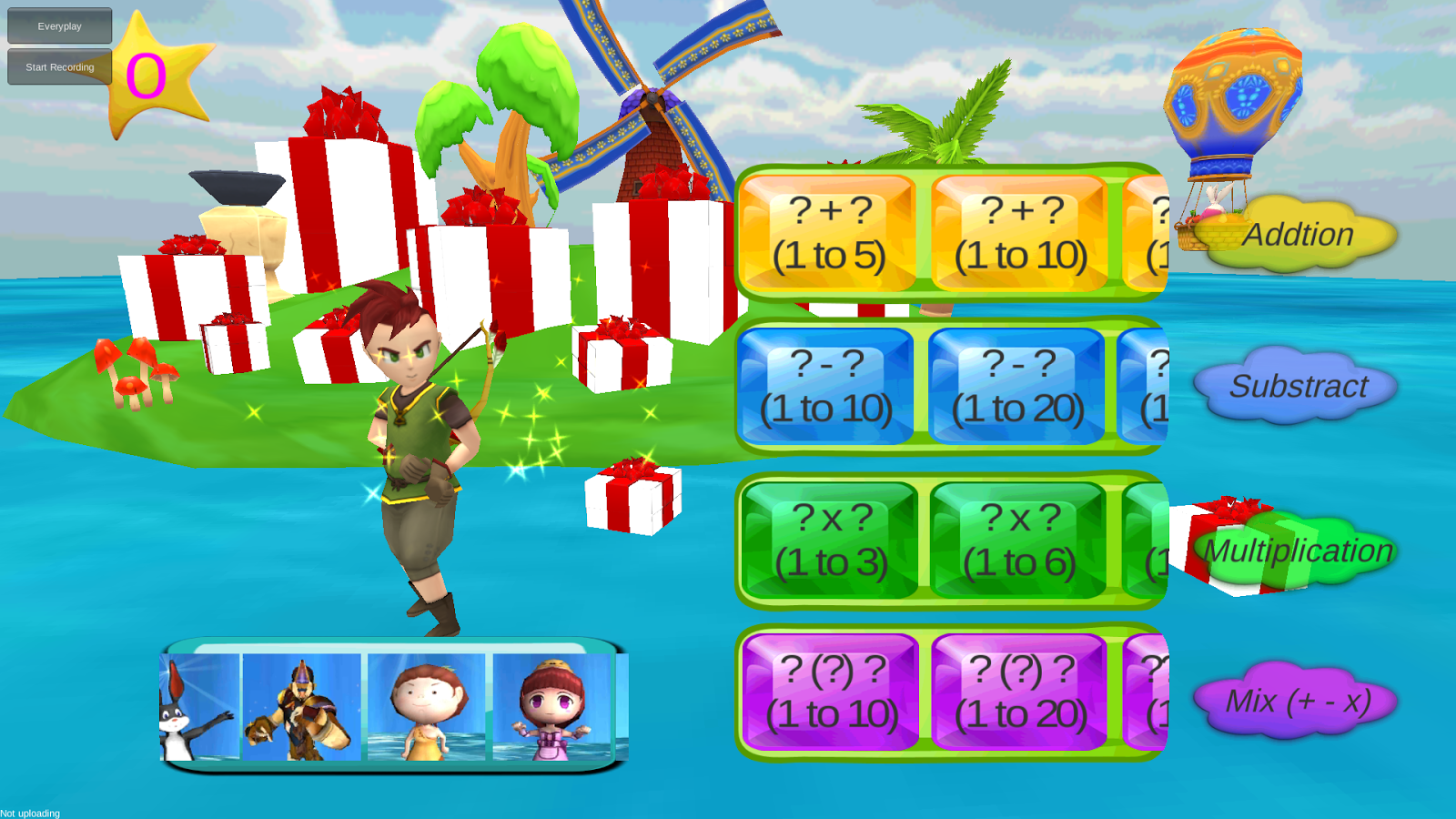 Kids Math Star- screenshot