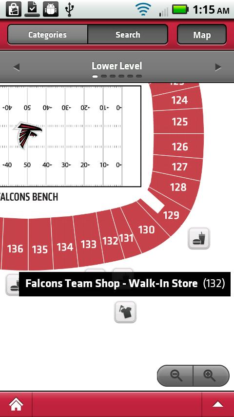 Falcons Mobile - screenshot