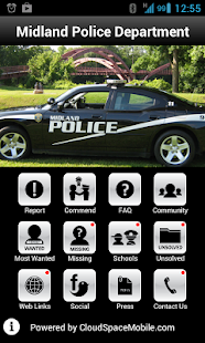 Midland Police Department- screenshot thumbnail