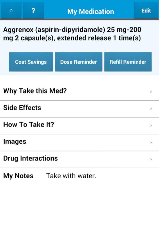 MedSimple - screenshot