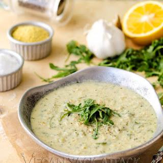 Multiple Personality Artichoke Arugula Soup