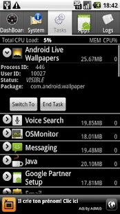 System Info for Android – Miniaturansicht des Screenshots