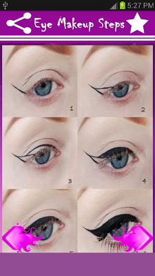 Eye Makeup Steps - screenshot