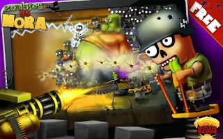 Screenshot of Zombies vs Nora