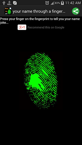【免費娛樂App】your name by fingerprint joke-APP點子