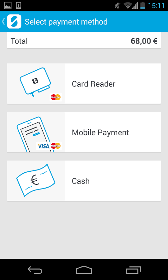 SumUp - Accept card payments - screenshot