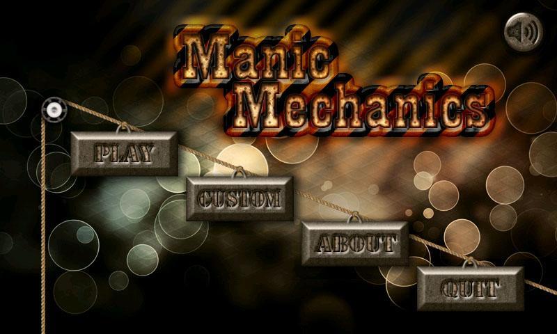 Manic Mechanics- screenshot