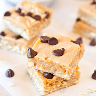 Marshmallow Peanut Butter Double Chocolate Pillowtop Bars.