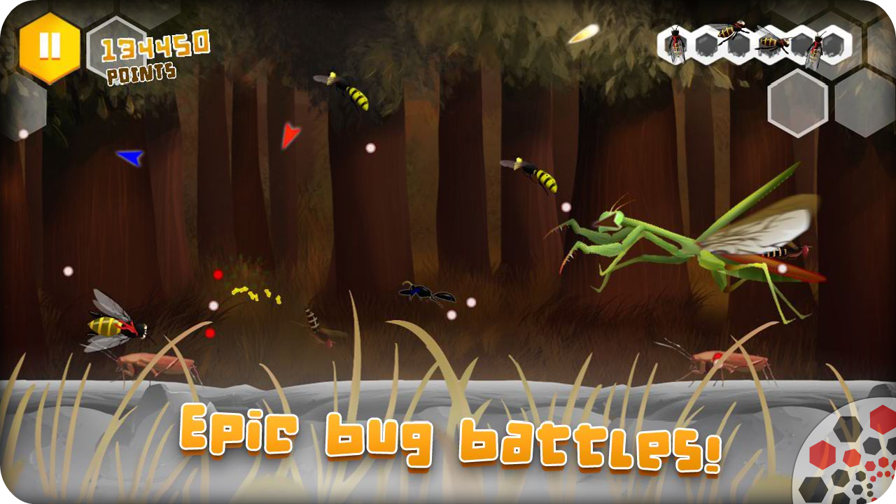 Beekyr FULL: Eco Shoot'em up- screenshot