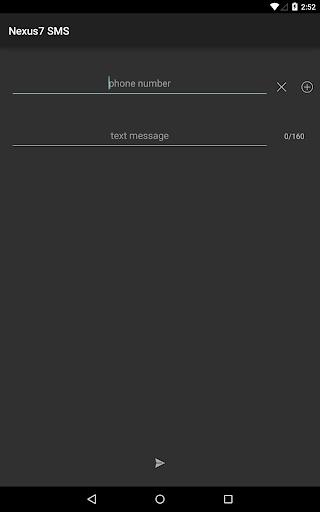 Nexus 7 SMS