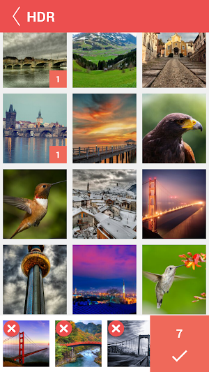 4 Collage Photo Maker Pic Grid App screenshot