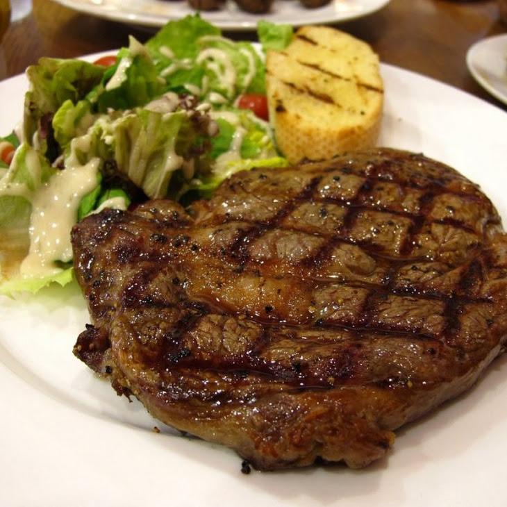Rosemary Rubbed Rib-Eye Steak