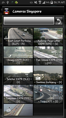 Cameras Singapore - Traffic 5.9.7 screenshot 1264659