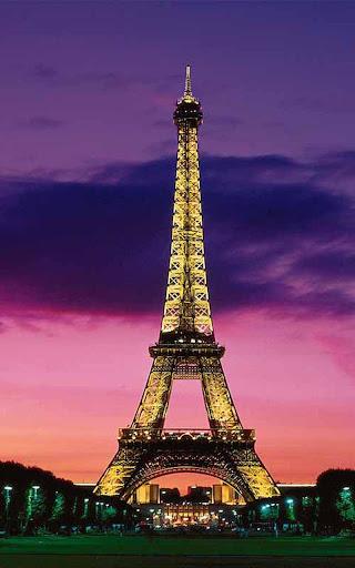 Eiffel Tower Live Wallpaper