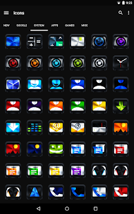 Colorful Metal - Icon Pack - screenshot thumbnail