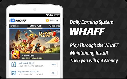 WHAFF Rewards - screenshot thumbnail