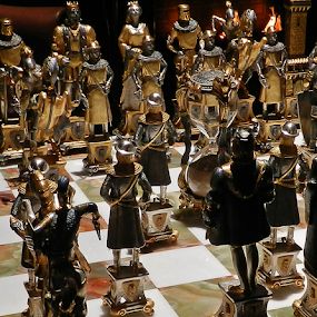 MJs Chess Set by Kerry  Milligan - Artistic Objects Other Objects ( neverland, chess, michael jackson, game )