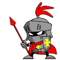 Little Knight Mascot logo