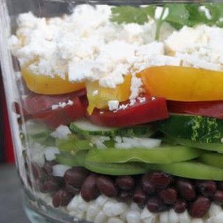 Southwestern Salad with a Chili and Lime Vinaigrette