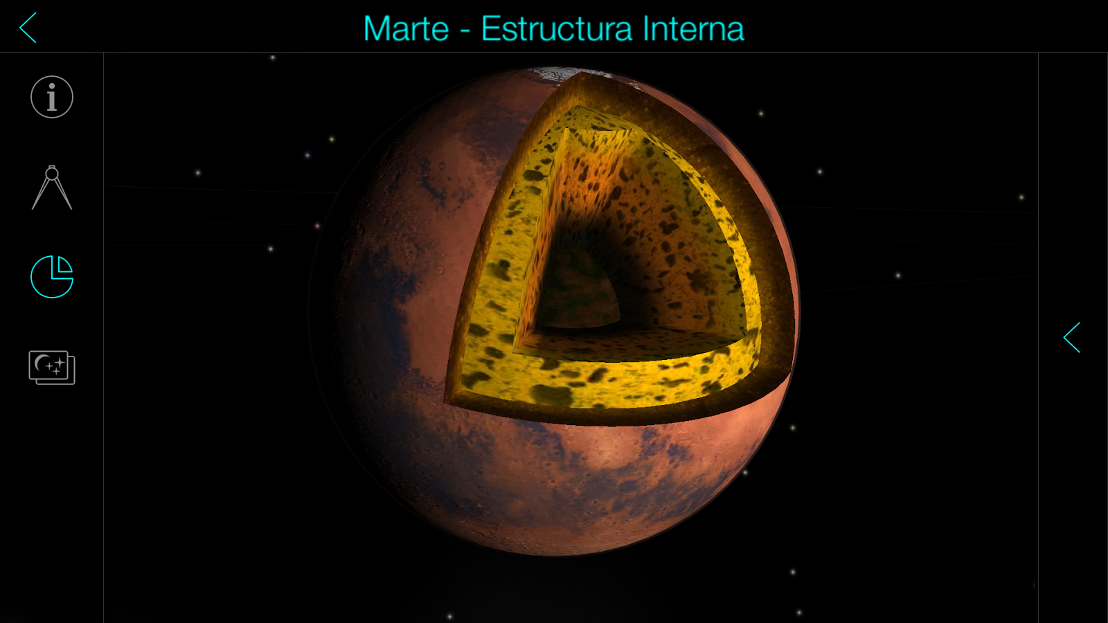 Solar walk free planetario 3d planetas estrellas for Immagini universo gratis