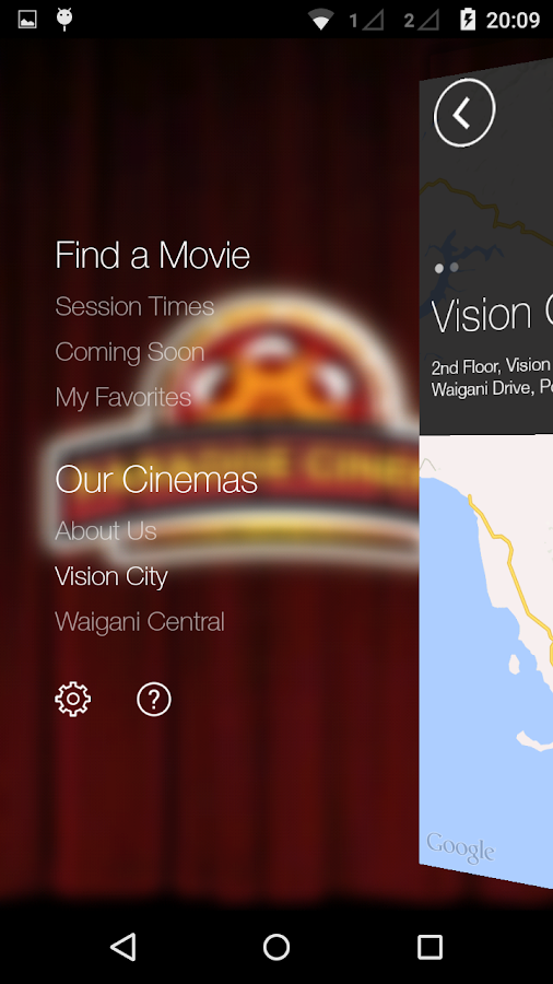 Paradise Cinemas- screenshot