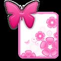 KEYBOARD SKIN|ButterflyFlower logo