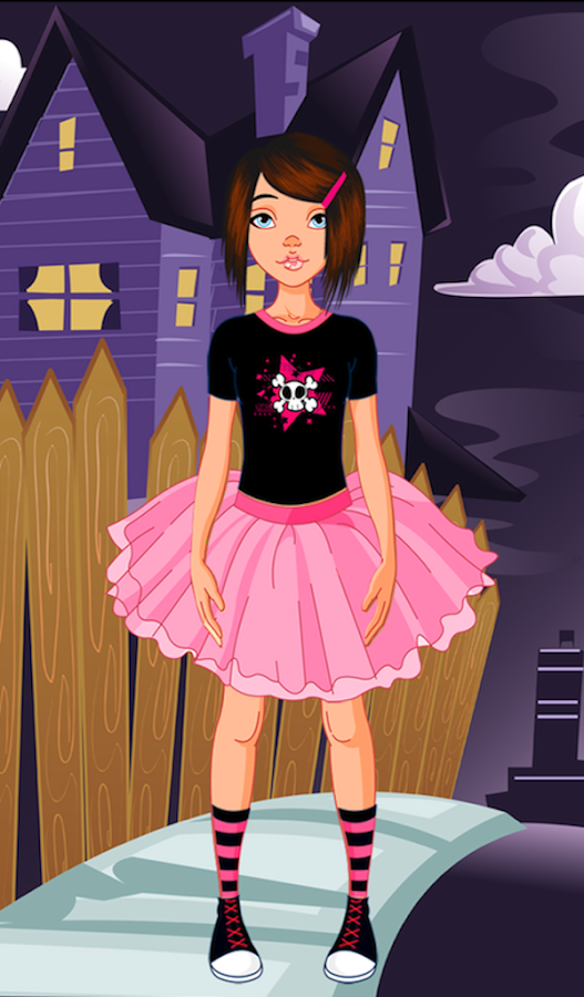 Emo Girl Dress Up - Android Apps on Google Play