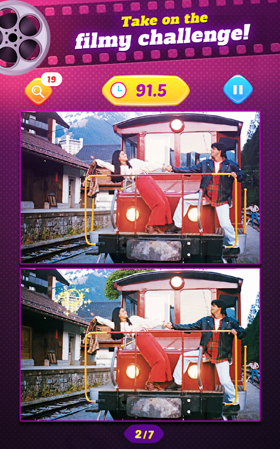 Movie Mania - Spot Differences- screenshot