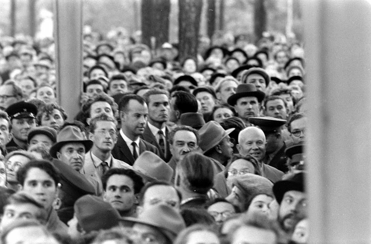 Khrushchev's Visit To The American Exhibition In Moscow