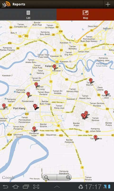 DengueFeeds- screenshot
